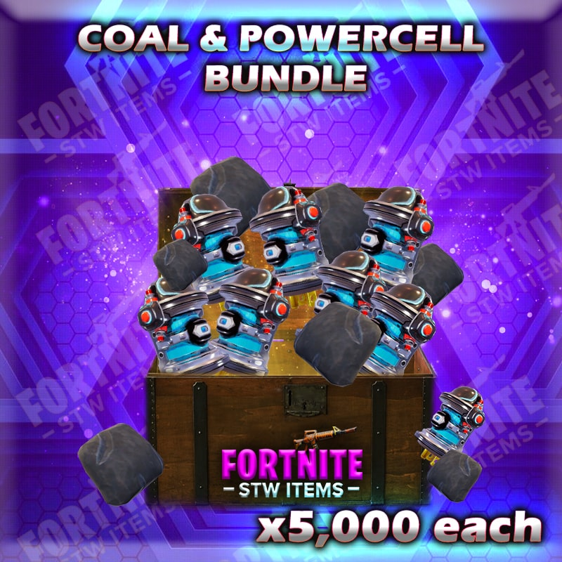 How To Get Active Powercell Fortnite 5 000 Coal 5 000 Active Powercells Fortnitestwitems Com