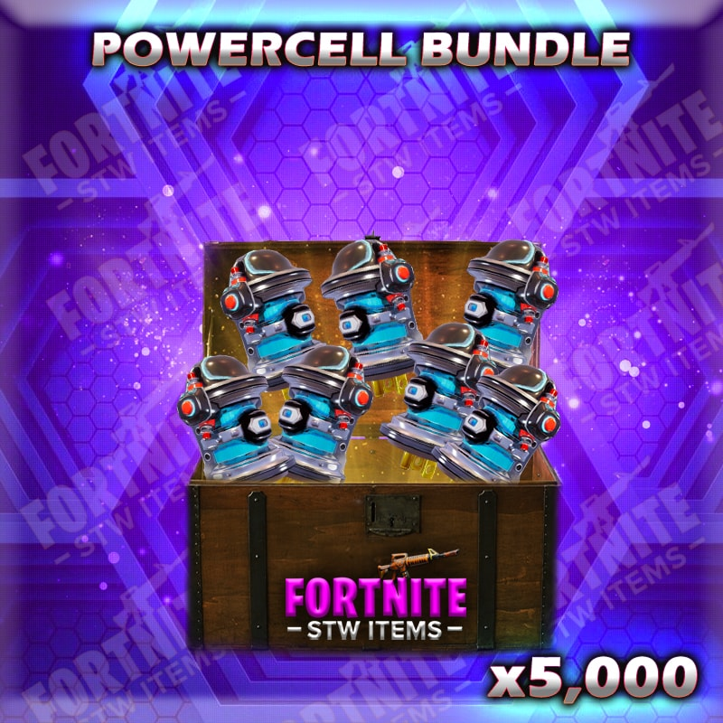 How To Get Active Powercell Fortnite Bundle 5k 5 000 Active Powercell Fortnitestwitems Com